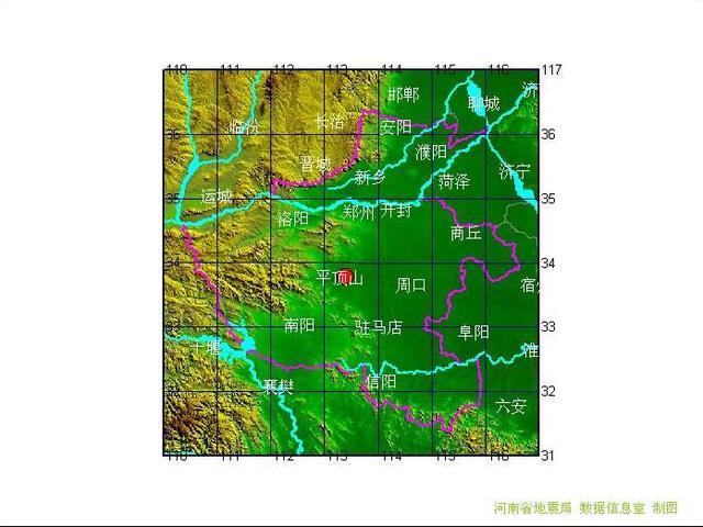 今天凌晨 河南许昌市襄城县发生2.2级地震
