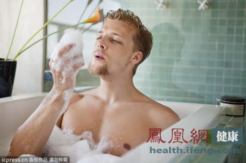 这个时间洗澡会致命 洗澡最易犯7错误