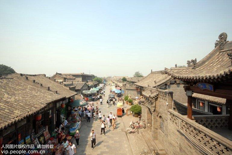 1、【山西省晋中市平遥古城景区】平遥古城是一座具有2700多年历图片