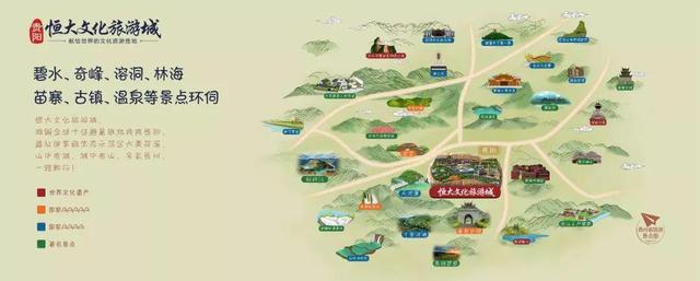 贵阳恒大文化旅游城 ,献给世界的文化旅游胜地