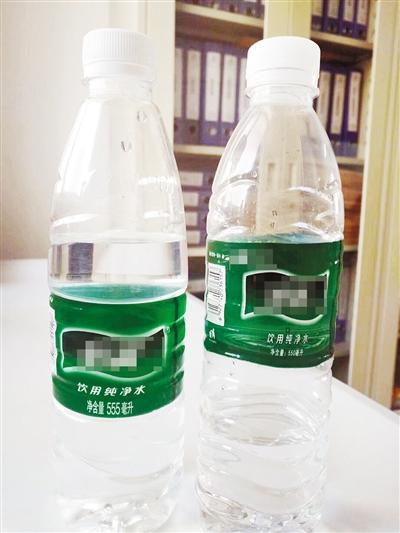 漯河市民买瓶矿泉水没喝完放桌上 第二天发现问题