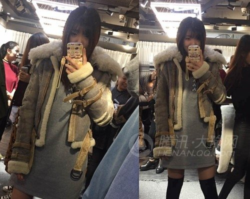 郑州有一种冷叫一夜入冬 大衣、皮草、围巾买了一堆