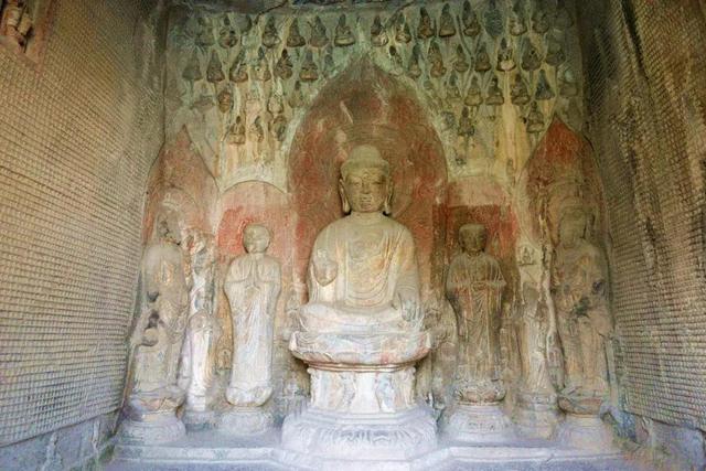 纪念龙门石窟万佛洞完工1337年