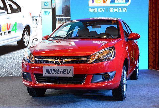 江淮和悦iEV4电动车上市 售价16.98万元高清图片