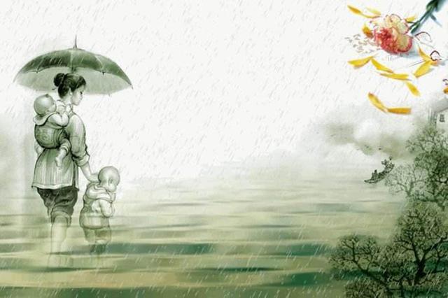 感恩孝道的绘画图片展示图片
