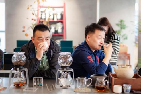清风细雨慢饮茶 尊客茶饮空间盛大开业