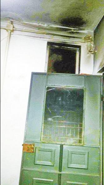 郑州一群租房着火疑因电线漏电所致 幸好无伤亡