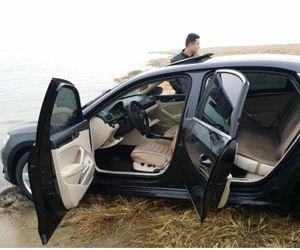 郑州市平易近昨晚车辆被盗 今晨现郑东龙湖内乱(图)
