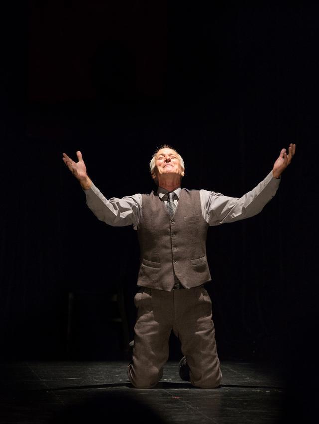4月8日郑州演出 话剧《一个人的莎士比亚》