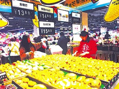 近日,记者走访了我市城区各大超市和水果店发现,在冬季和初春热卖的图片