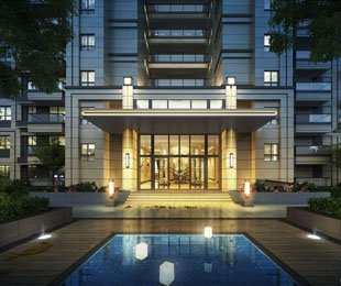 平西湖畔新中式墅区高层