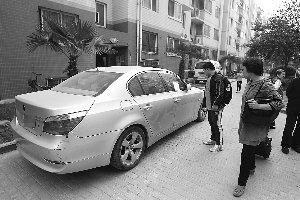 [赞扬] 宝马剐蹭无人车辆 网友夸赞肇事司机