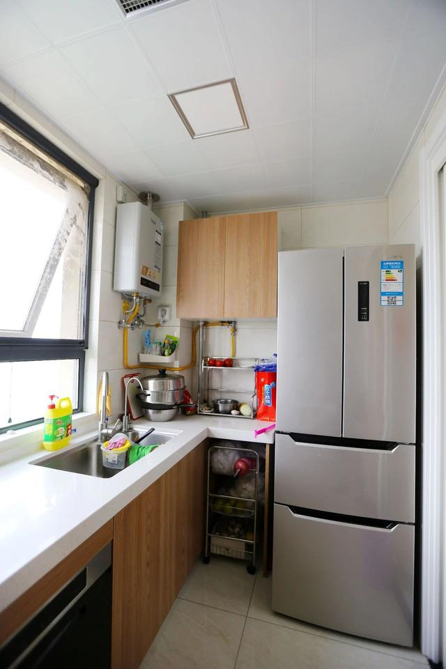 装修清单|130平简约三房,新风+净水+投影,全屋柜子才5万简直太实用