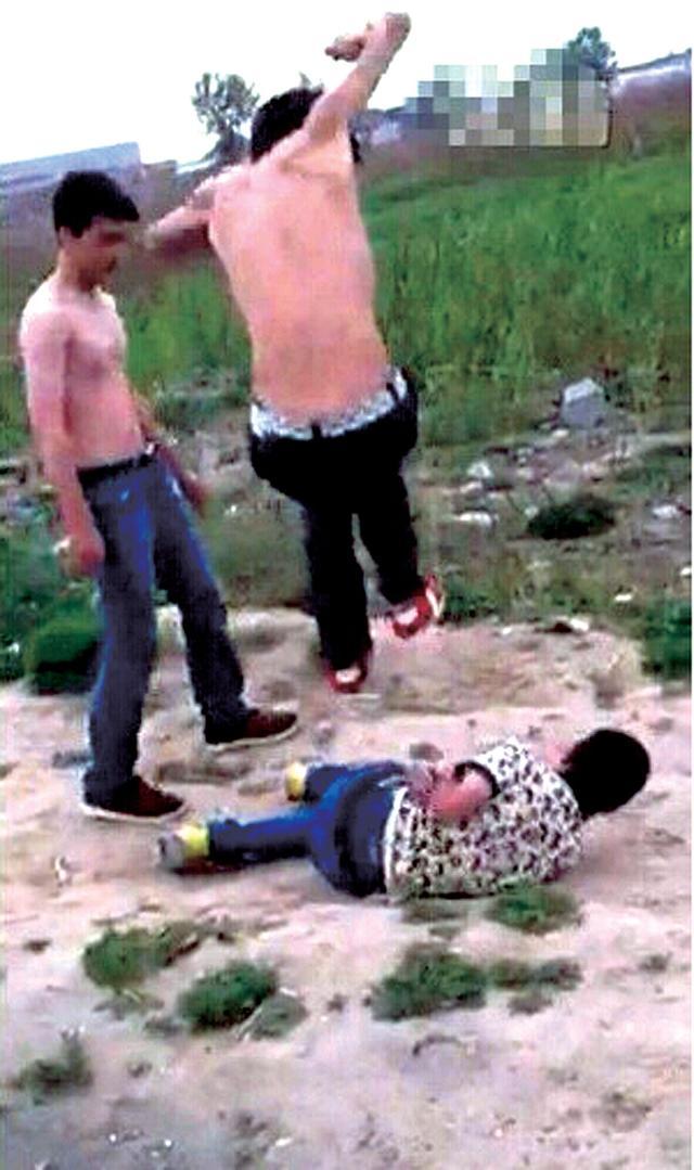驻马店14岁少年在京上小学 遭3男子轮流殴打