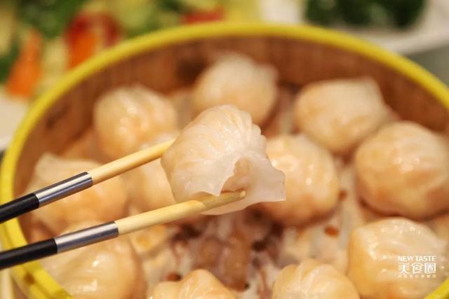 一笼虾饺,心手敬献!
