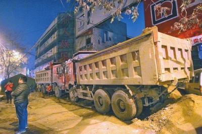 郑州西建材市场遭暴力围堵16天 相干部分未解决