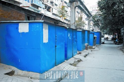 郑州一小区私建百十座铁皮房 因电动车无处停
