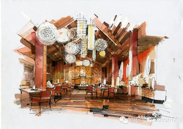 东南亚室内手绘