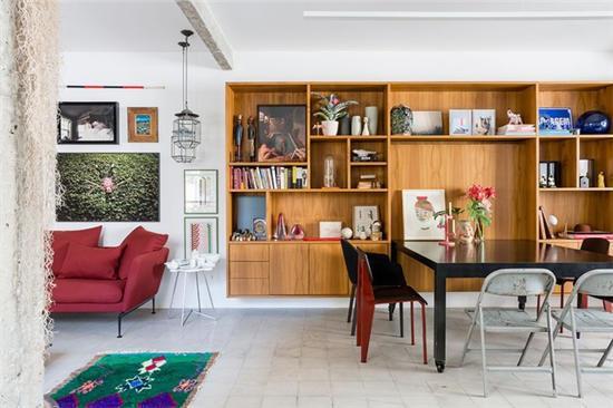 轻叶流景满堂绿 110平米旧公寓改造