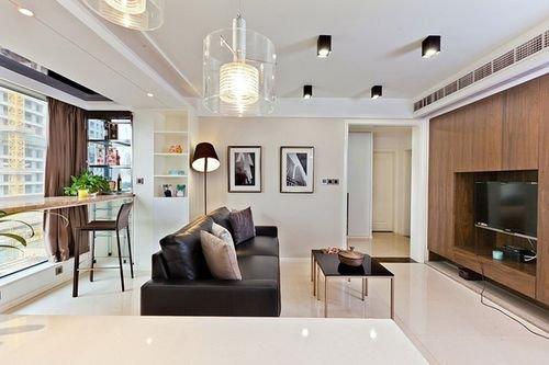 .5万装55平小户型样板房 2室1厅超级明亮