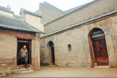 洛阳孟津县修复清代村 有看成新旅游热门