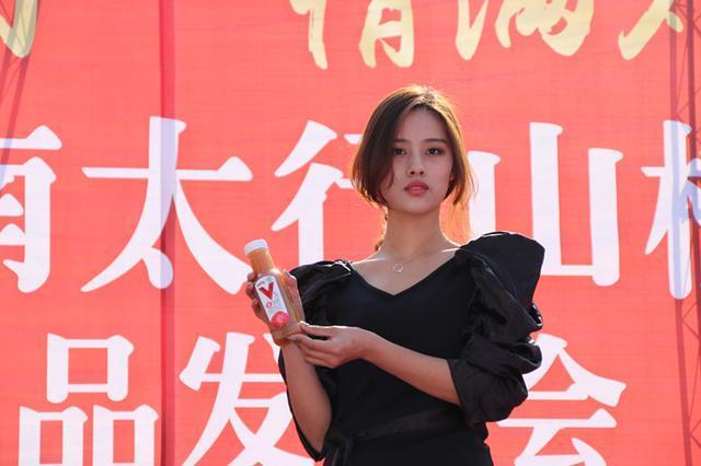 2018涌泉第二届南太行山楂文化节暨新品发布会举行