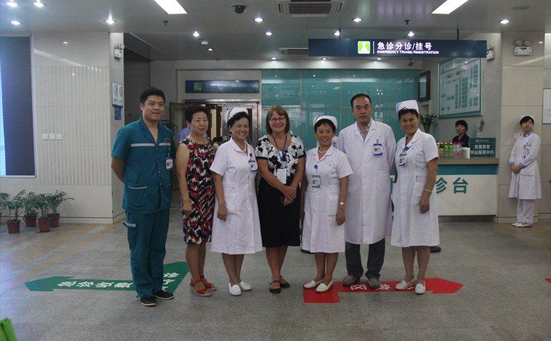 郑州大学第一附属医院李博 2014 微笑服务明星评选