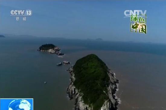 浙江温州市洞头区的南、北爿山岛省级海洋特别保护区