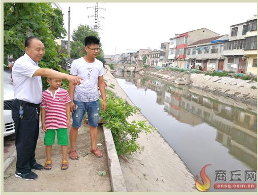 商丘一父子捞鱼时双双坠河 57岁老人连救两命