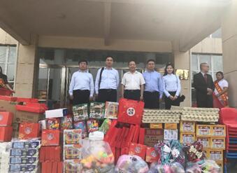 富德生命人寿郑州中心支公司走进市儿童福利院