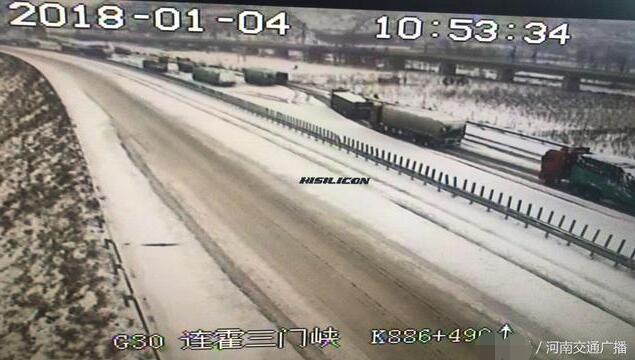 京港澳信阳段严重堵车 高速交警正在全力疏导
