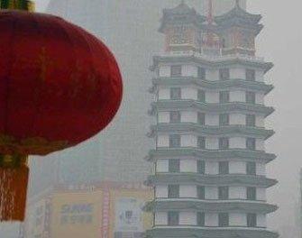 郑州雾霾图片