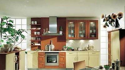 装修事半功倍 4类型小户型厨房装饰法则图片