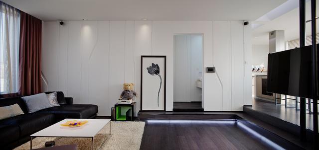 艺念集私空间设计:北京时尚双层大宅