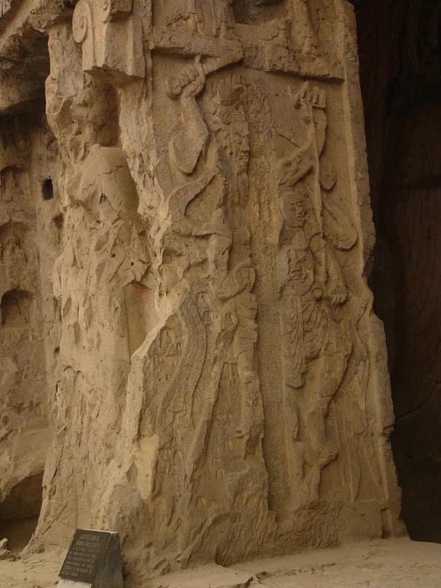 龙门石窟精美绝伦的造像