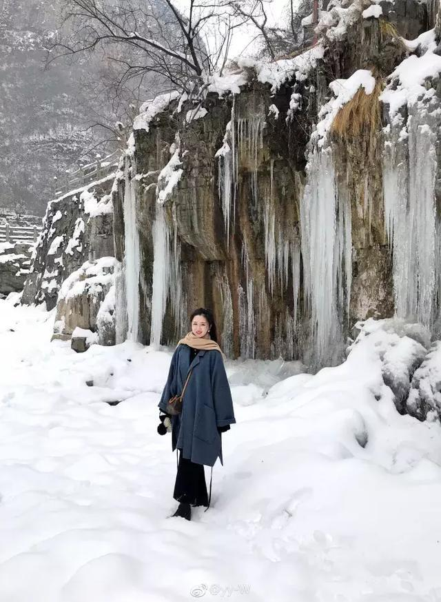 风雪过后,留在云台山的都是艺术