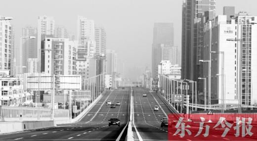 26日郑州陇海路高架全线通车 没有一处红绿灯