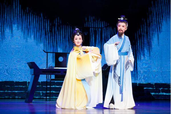 6月24日郑州演出 大型原创黄梅戏《太白醉》