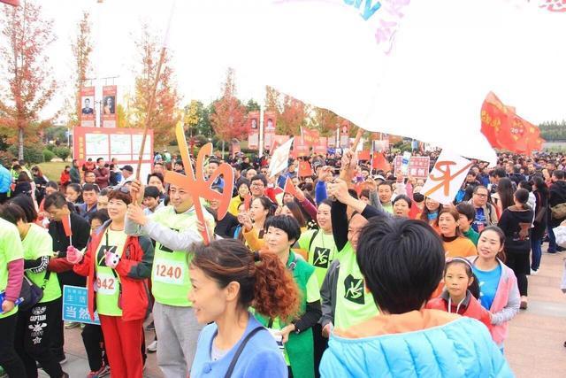 2017漯河环沙澧河国际徒步大会隆重举行_大豫网_腾讯网