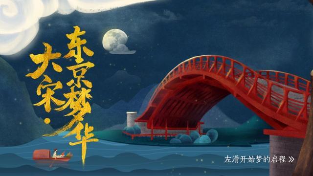 清明上河园打造手绘版《大宋·东京梦华》 带你一键穿越千年