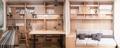 50平米原木风两居室,日式清新感十足!关键是空间收纳超多心机!