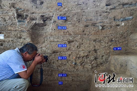 正定开元寺遗址:7朝文化层叠压 2000文物出土