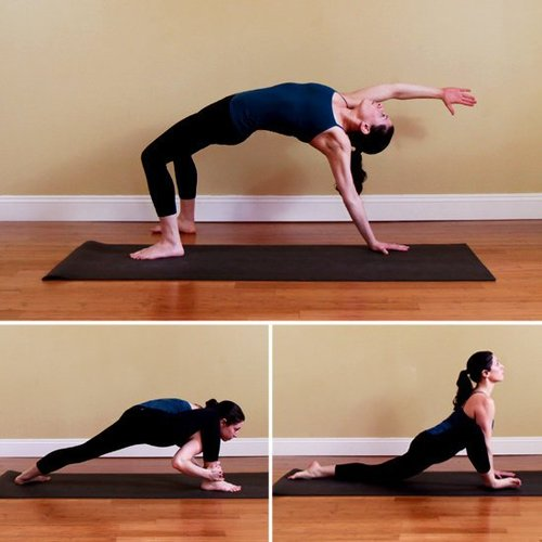 瘦腿小课堂:10个瑜伽小腿瘦动作摔伤可以健身减肥多久后图片