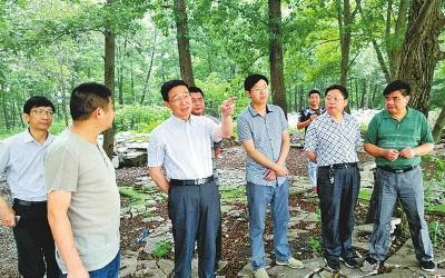 光山县委书记刘勇:树起标杆干 及早奔小康