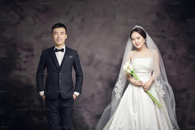 平日里大大咧咧的姑娘 拍韩式婚纱照美称仙