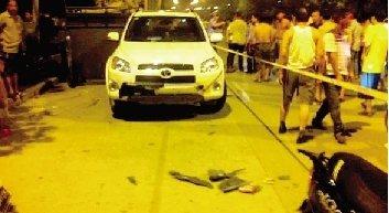 焦作一工程车冲进路边纳凉人群 致4死10人伤