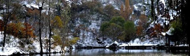 2018浮戏山的第一场雪,看万般芳华美景!