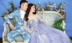 造型师和摄影师相当用心,姑娘婚纱照就要这个样