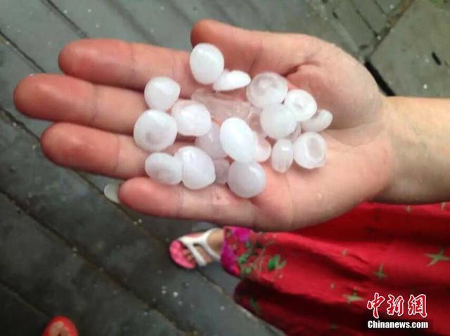 昨日大风冰雹袭河南 宝丰两女童被砸身亡(图)