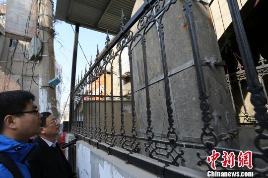 郑州宋真宗御碑面对拆迁村平易近看原地维护